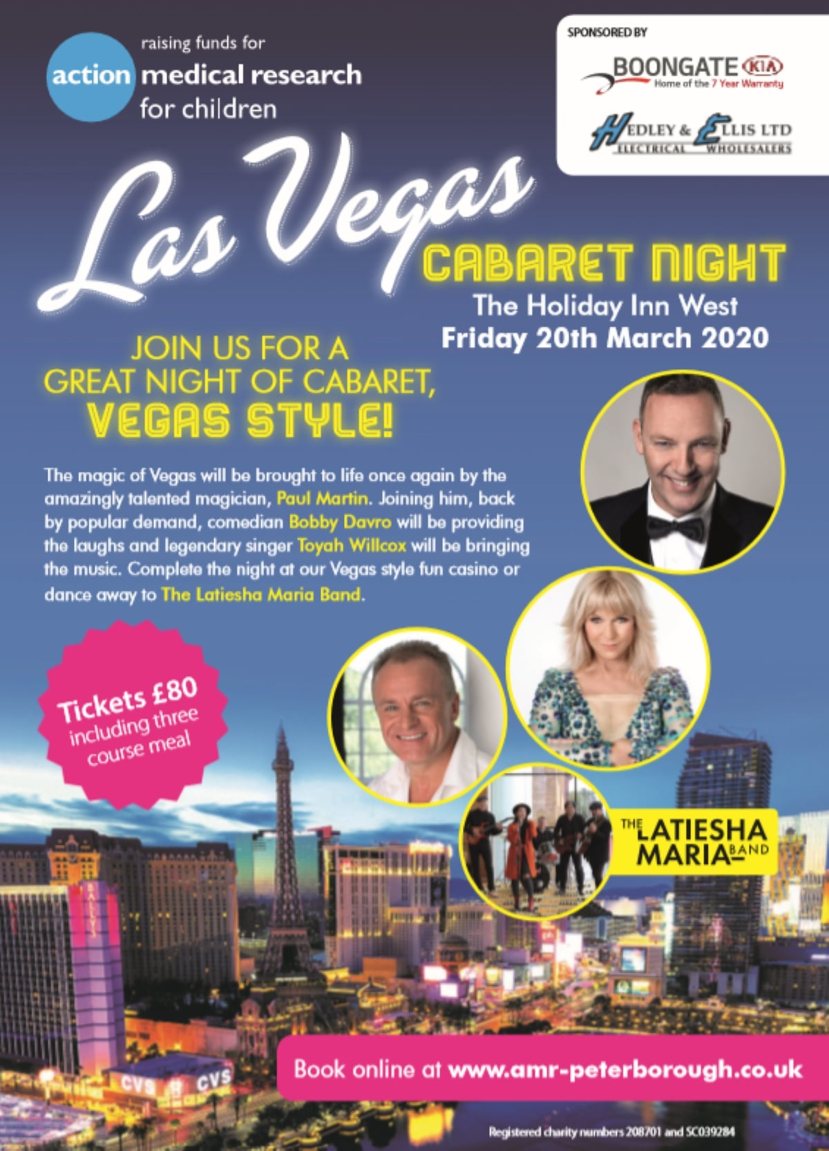Children's Charity Brings the Vegas Strip to Peterborough